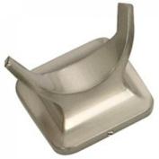 MINTCRAFT 3653-07-SOU Double Robe Hook, Brushed Nickel