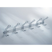 Classico Wall Mount Rack with 6 Double Hooks