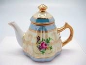 Victorian Jewellery Box Deluxe Gold Tea Pot Jewellery Box