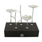 Lotus Pond Metal Jewellery Stand and Wood Box - Inspired by Nature