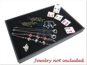 35*24*3cm Black Velvet Counter Display Case / Box / Organiser / Holder for Jewellery Retail Shop