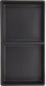 SE - Liner Tray - Black, 2 Section, 7x 7.13cm x 3.8cm . - J052