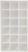 SE - Liner Tray - White, 18 Section, 2 1/8x 2in x 3.2cm . - J0818W