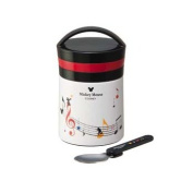 Mickey Mouse(musical notes) Stainless Steel Lunch Box LJF3