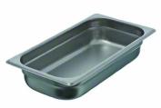 Update International SPH-332 Stainless Steel One Third Anti-Jam Steam Table Pan, 6.4cm
