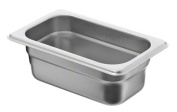 Update International SPH-112 Stainless Steel Anti-Jam Steam Table Pan, Ninth Size, 6.4cm