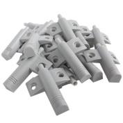 Cabinet Door Drawer Soft Closer Damper ABS Mute Buffers Pack Of 20