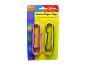 Jumbo paper clips - Case of 144