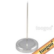 TOOGOO(R) 130mm Long Straight Rod Paper Holder Spike Stick Bill Fork for Receipt Counter Desk