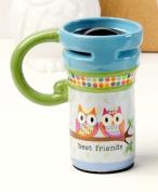 Giftcraft Ceramic Travel Mug - Best Friends