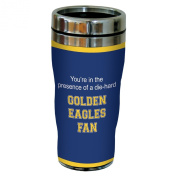 Tree-Free Greetings sg24774 Golden Eagles College Basketball Sip 'N Go Stainless Steel Lined Travel Tumbler, 470ml