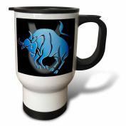 Zodiac Signs Horoscope - Taurus Zodiac Sign - Travel Mug