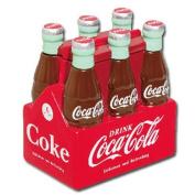 Ceramic Coca-Cola Cookie Jar Six Pack of Bottles