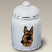 German Shepherd - Tamara Burnett Treat Jars
