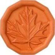 JBK Oak Leaf Terra Cotta Brown Sugar Saver