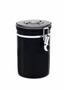 Friis Stainless Steel Coffee Vault, 470ml, Black