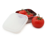 U Konserve UK035 To-Go Container, Small, Stainless/Clear