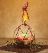 Hanging Basket - Rooster