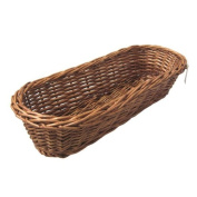 Willow Bread Basket - Brown
