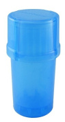 MedTainer Storage Container w/ Built-In Grinder - Blue