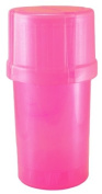 MedTainer Storage Container w/ Built-In Grinder - Pink
