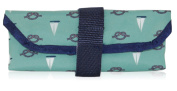BlueAvocado-XO(ECO) Reusable Sandwich Wrap, Green Nautical