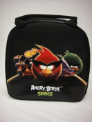 Angry Bird Insulated Lunch Bag - Space Black Lunch Bag