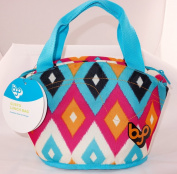 BYO Gusto Lunch Bag, Diamond Ikat Pink