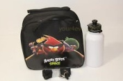 New Angry Bird Space Sholder Strap Lunch Box Bag - Black