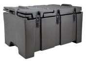 Cambro 100MPCHL-110 Camcarriers Polyethylene Insulated 100-Series Top Load Food Pan Carrier Cart, Black