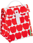 Lunchskins Reusable Lunch Tote, Red Apple