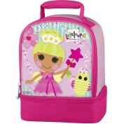 "Lalaloopsy ""Pix E. Flutters"" Dual Compartment Children's School Lunchbox"