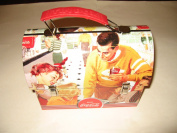Coca Cola Retro Dome Shapped Tin Lunch Box
