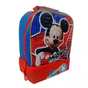 "Disney Mickey Mouse ""So Rockin'"" Dual Compartment Children's School Lunchbox"