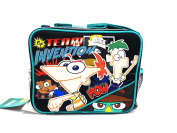 Black Pow Phineas and Ferb Lunch Box - Phineas and Ferb Lunch Bag