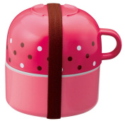 Ch ri cup with lunch box magenta 70051