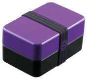 DELI painted two-stage lunch box 800ml purple 70303