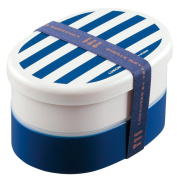 LUNCHEER painted two-stage lunch box navy 70203