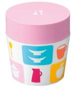 Masakazu [lunch box] isso ecco cafe lunch round pink kitchen