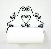 HEART PAPER TOWEL HOLDER-33cm W X 21cm H
