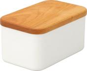 Noda Horo Enamel Butter Case 200g Cap Cherry BT-200
