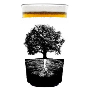 Coolie Junction Tree of Life Roots Pint Glass Coolie