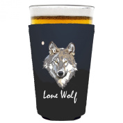 Coolie Junction Lone Wolf Pint Glass Coolie