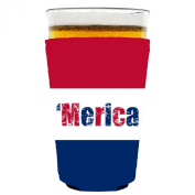 Coolie Junction Merica Colours Pint Glass Coolie