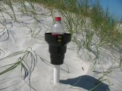 Beach Cup Holder- This Amazing Beach Cup Holder (Black) Holds Drinks At The Beach And In Your Car. The KAZeKUP Ultimate Cup Holder is the perfect accessory for the beach to hold all your favourite drinks close by. When you leave the beach take off the  ..