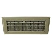 Hart Cooley 210 4x 10 GS HVAC Register, 10cm H x 25cm W, Steel for Floor Golden Sand