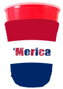 Coolie Junction Merica Colours Solo Cup Coolie