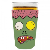 Coolie Junction Zombie Brains Pint Glass Coolie