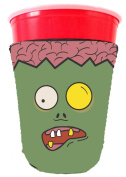 Coolie Junction Zombie Brains Solo Cup Coolie