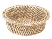 Caspari Rattan Wine Bottle Holder, Natural